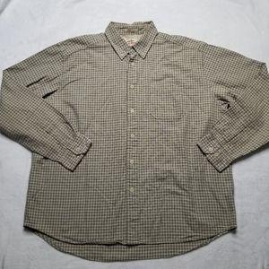 Eddie Bauer Antique Oxford Mens Shirt Sz XL